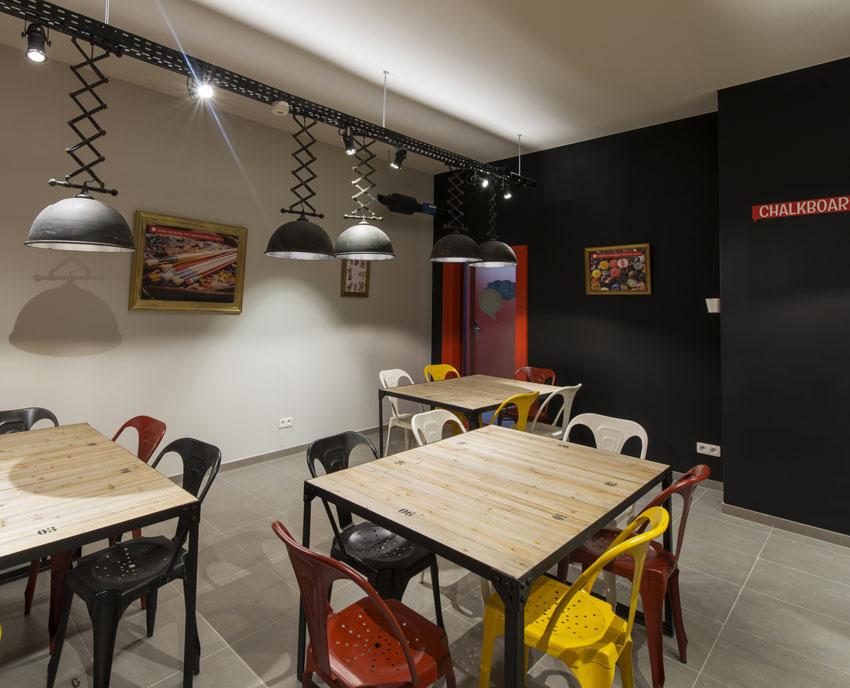 Aperçu des espaces communs 'Upkot' à Bruxelles. ©Upgrade Estate