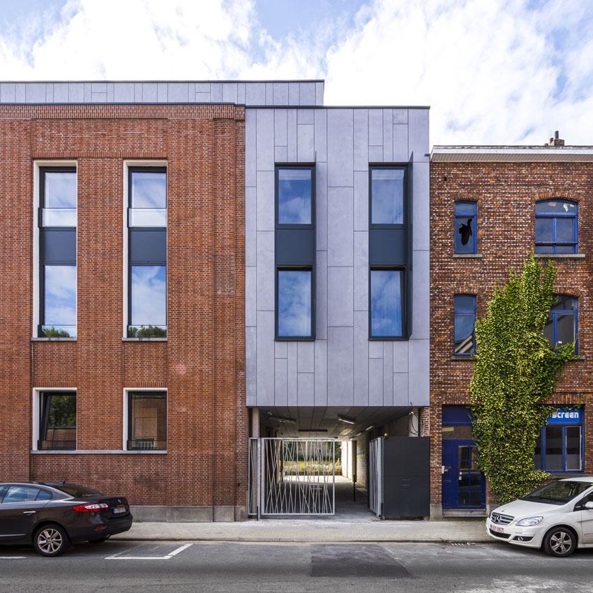 Aperçu de la façade d'un logement 'Upkot'. ©Upgrade Estate