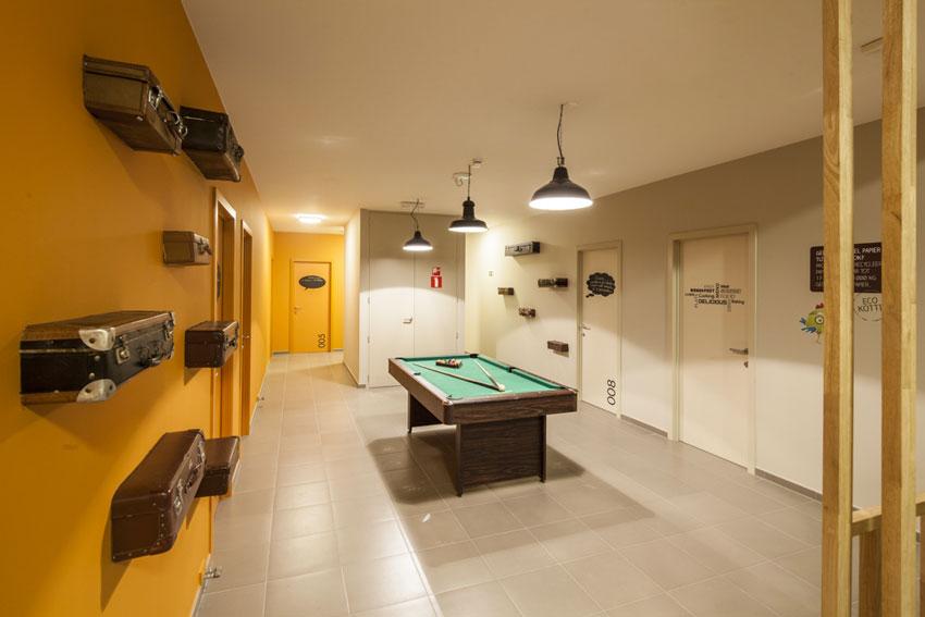 Aperçu des espaces communs 'Upkot' à Courtrai. ©Upgrade Estate