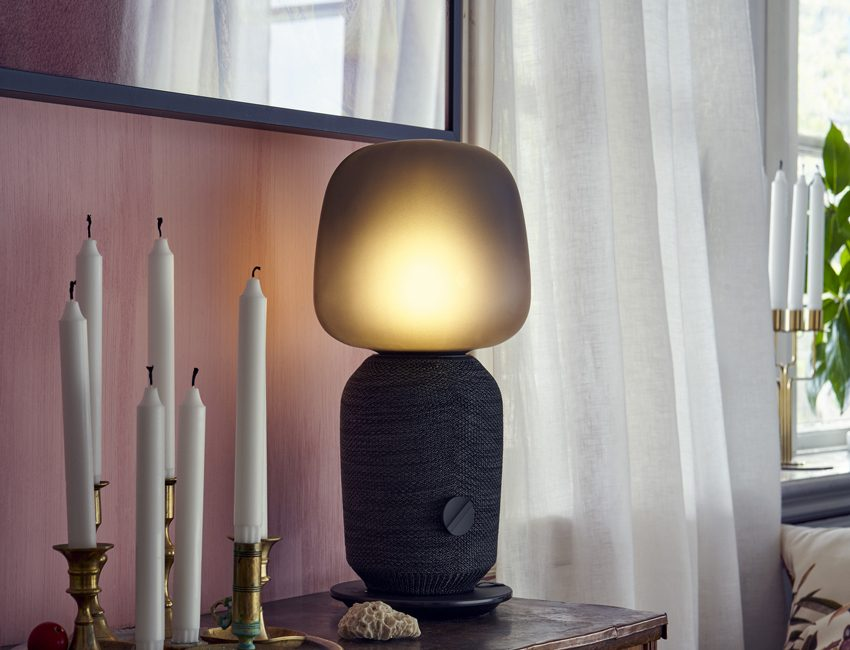 objets connectés lampe