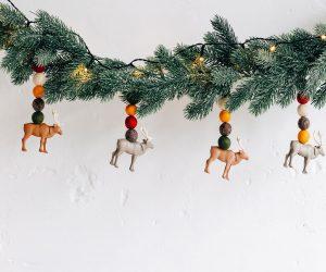 DIY : une guirlande de Noël avec Playmobil