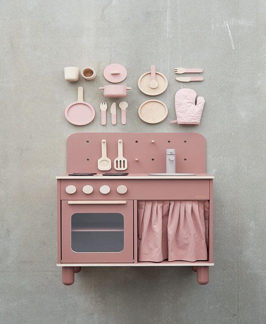 Flexa jouet en bois cuisine