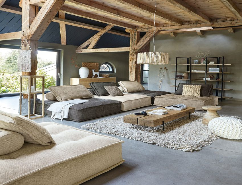 ambiance chalet moderne