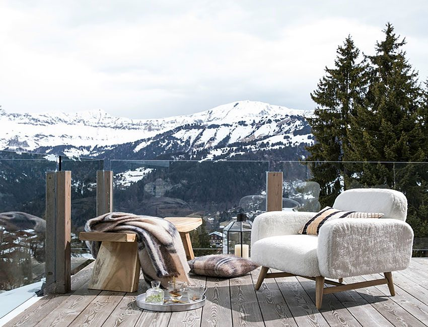 ambiance chalet scandinave