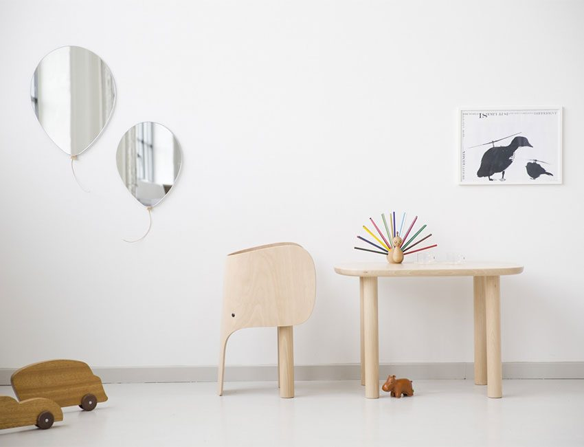 chaise enfant elephant