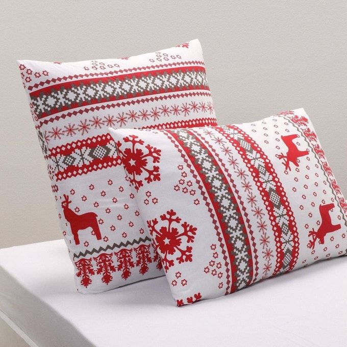 coussin ambiance chalet