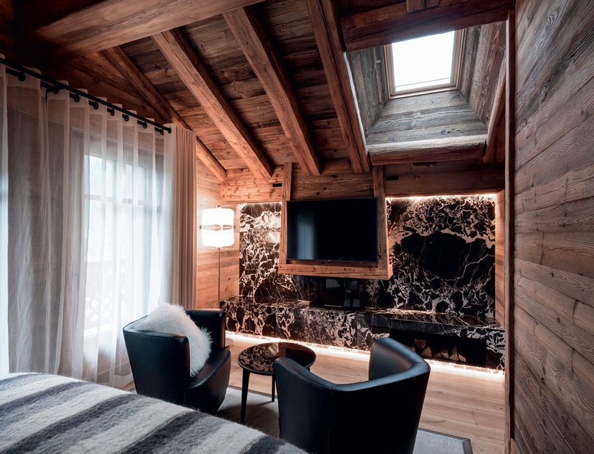 chambre armancette hôtel Mont-Blanc