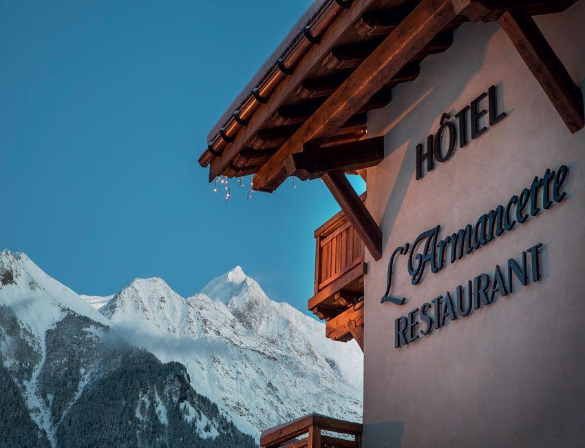vue hôtel Mont-Blanc