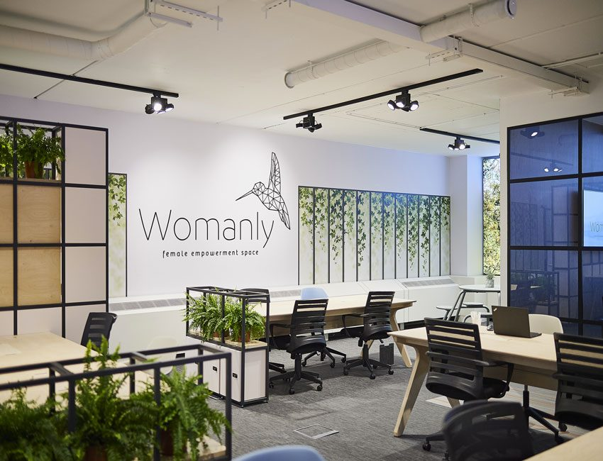 Womanly coworking Bruxelles feminin