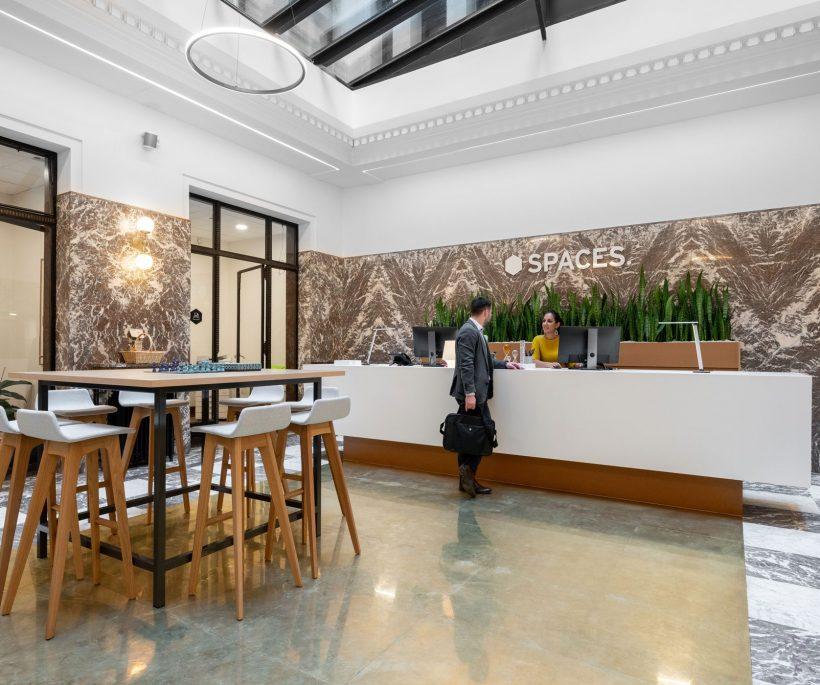 Spaces Stock Exchange: le nouveau coworking en plein centre de Bruxelles