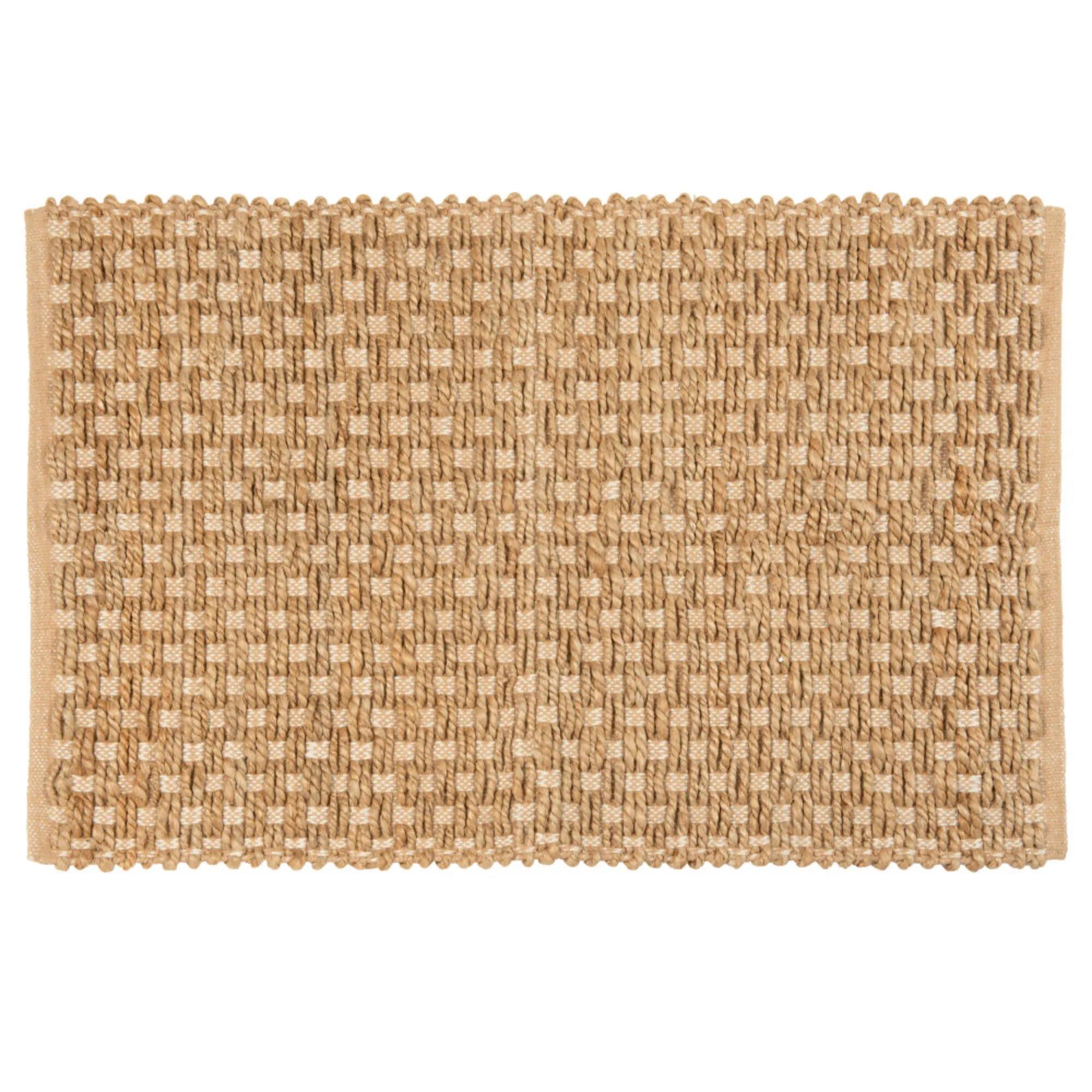 tapis en coton déco Maisons du Monde