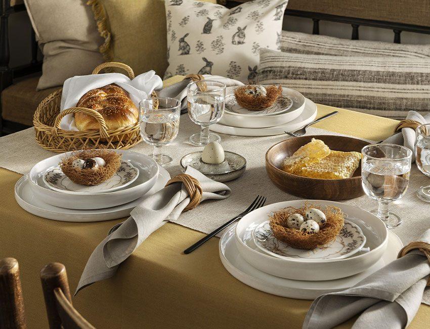 table de pâques H&M home