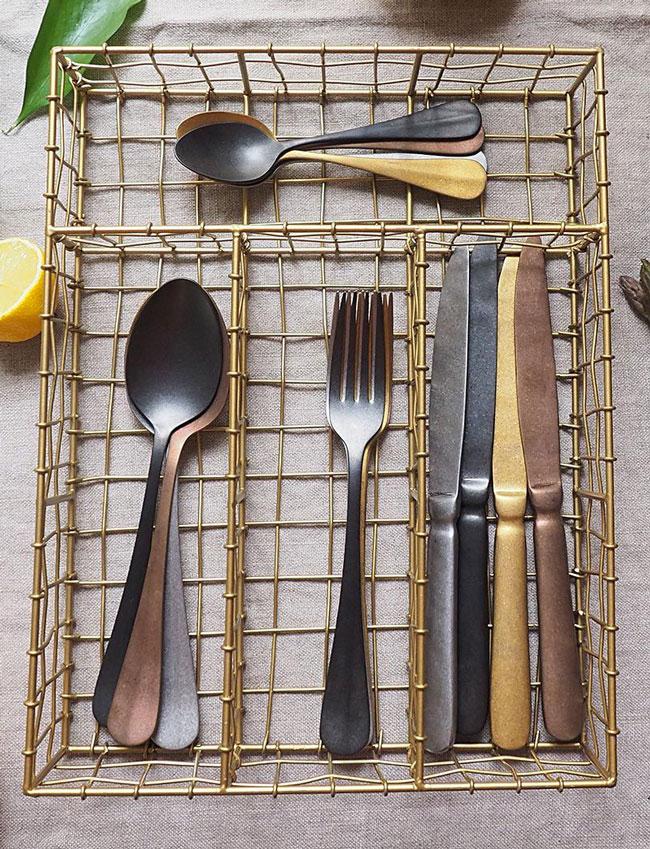 rangement cuisine range couverts