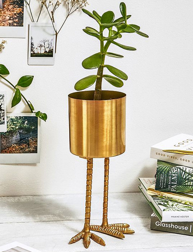 décoration pot de fleur urban outfitters