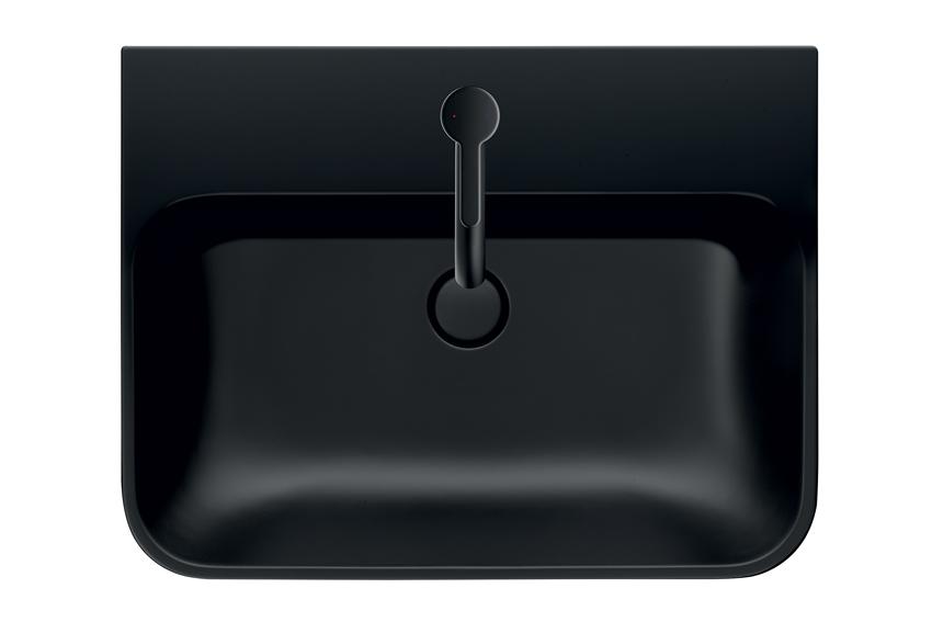 lavabo noir mat