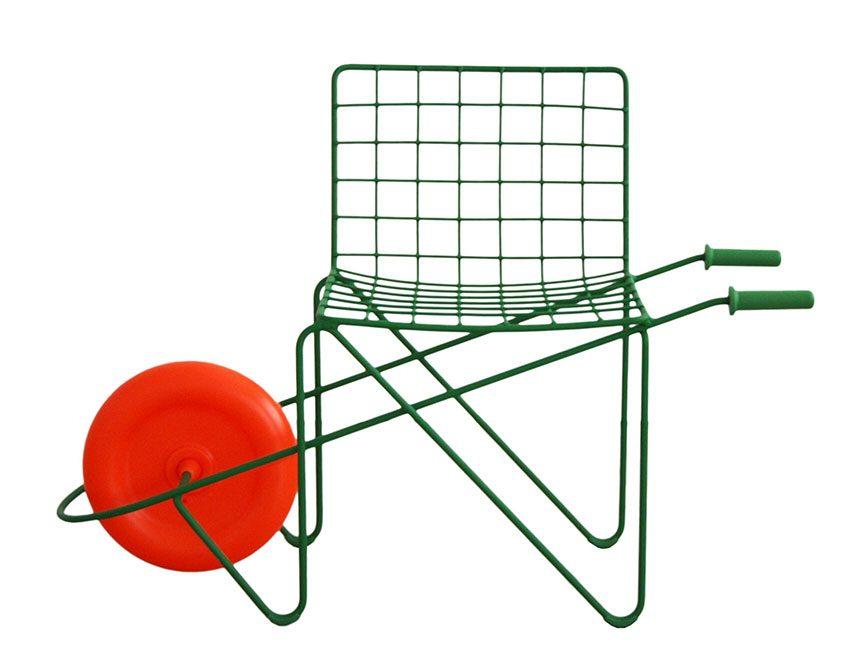 mobilier de jardin enfant chaise trotter Magis