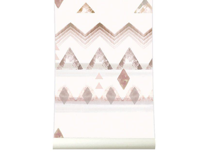 papier peint souk roomblush