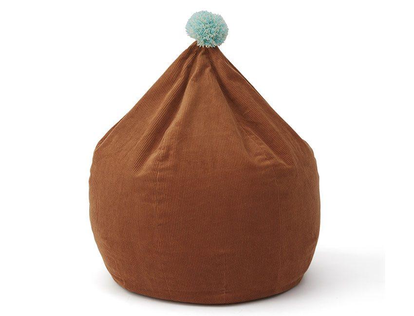 pouf brun oyoy