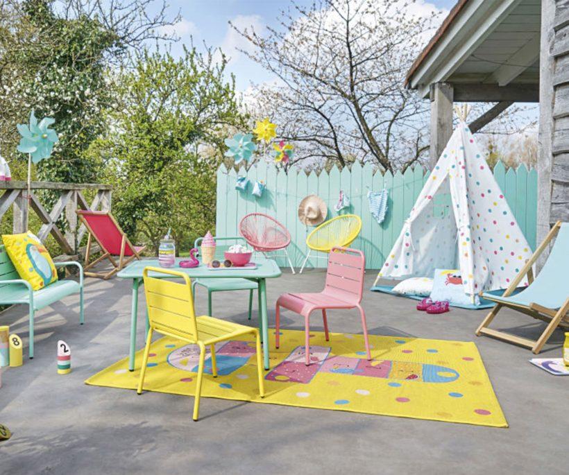 Où trouver du mobilier de jardin pour les enfants ?