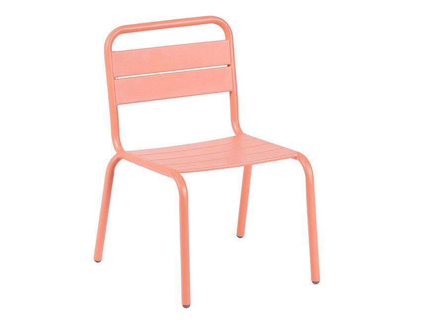 chaise enfants métal casa