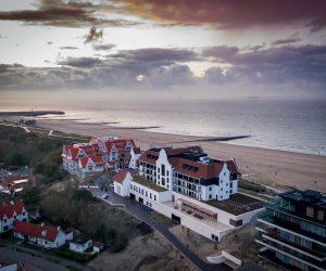 À Cadzand, l'hôtel De Blanke Top nous emmène au sommet des dunes