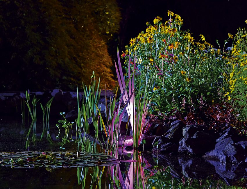 verlichting tuin OASE diy