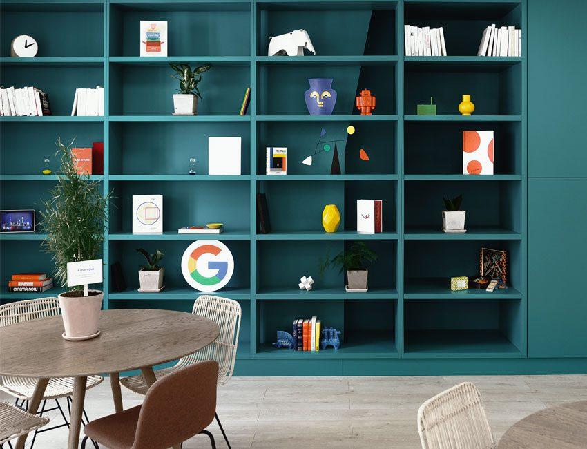 bibliothèque maison google