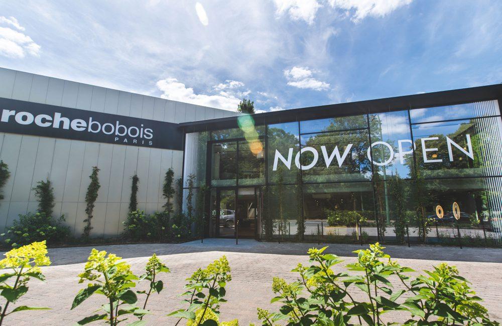 Roche Bobois et sa nouvelle façade végétale