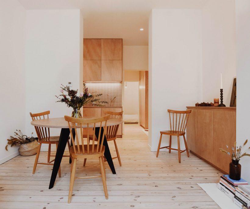Avant / Après : la rénovation incroyable d'un appartement bruxellois