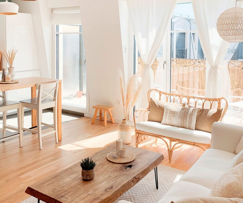 À Paris, visite d'un appartement 100% cocoon
