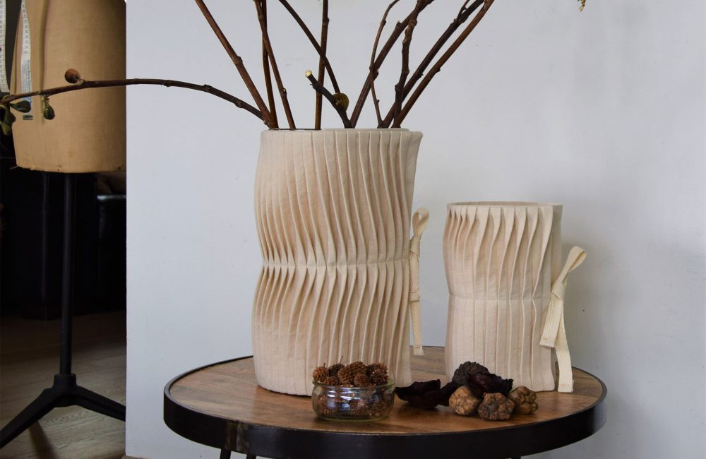 SAKA TOO, la marque belge de déco en tissu de coton bio