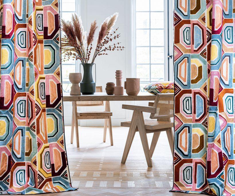 Les tendances tissus et papiers peints de 2021
